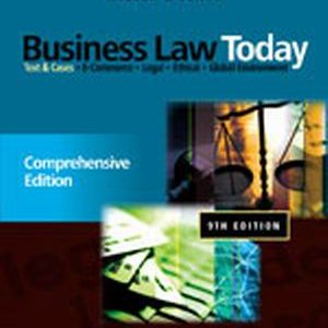 Solution Manual for Business Law Today: Comprehensive