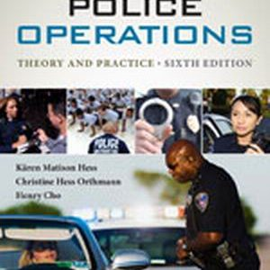 Solution Manual: Police Operations 6th Edition Hess