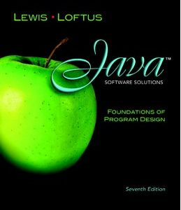 Test Bank: Java Software Solutions 7th Edition Lewis