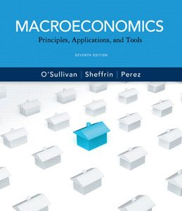 Test Bank: Macroeconomics Principles Applications and Tools 7th Edition OSullivan