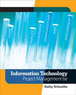 Test Bank: Information Technology Project Management 6th Edition Schwalbe