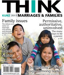 Test Bank: THINK Marriages and Families 1st Edition Kunz