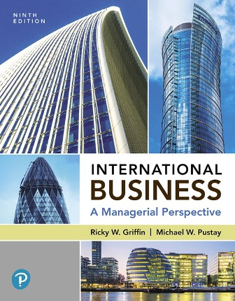 Test Bank: International Business: A Managerial Perspective 9th Edition Griffin