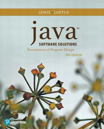 Test Bank: Java Software Solutions 9th Edition Lewis