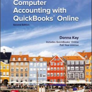 Solution Manual: Computer Accounting with QuickBooks Online 2nd Edition Kay