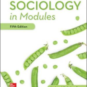 Test Bank: Sociology in Modules 5th Edition Schaefer