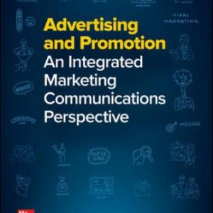 Test Bank: Advertising and Promotion: An Integrated Marketing Communications Perspective 12th Edition Belch