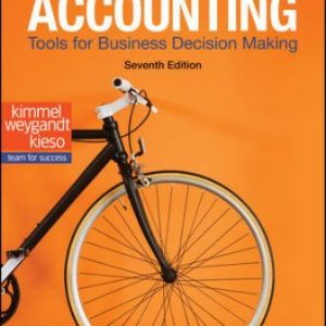 Solution Manual: Accounting: Tools for Business Decision Making 7th Edition Kimmel