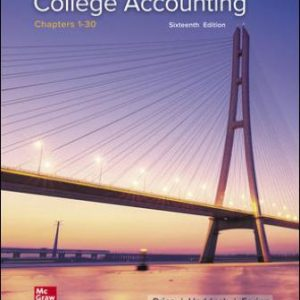 Test Bank: College Accounting Chapters 1-30 16th Edition Price
