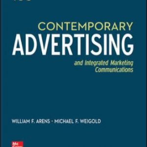 Solution Manual: Contemporary Advertising 16th Edition Arens
