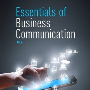Solution Manual: Essentials of Business Communication 10th Edition Guffey