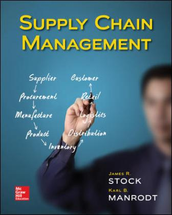 Test Bank: Supply Chain Management 1st Edition Stock